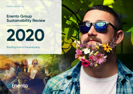 Enento Group Sustainability Review