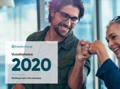 Enento Groupin vuosikertomus 2020