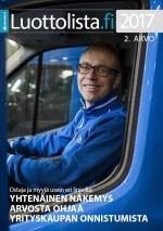 Luottolista.fi kansikuva: Arvo