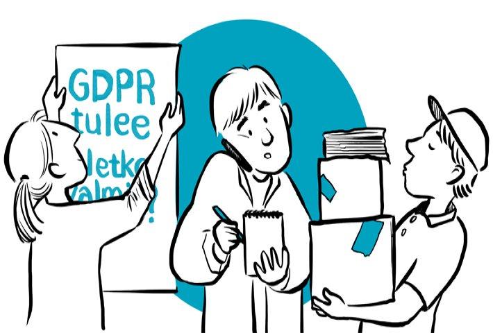 Kysymyksiä ja vastauksia GDPR:ään liittyen