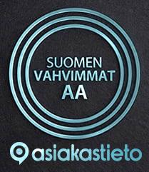 Oulun Sähkönmyynti Oy:lle Suomen Vahvimmat -laatusertifikaatti